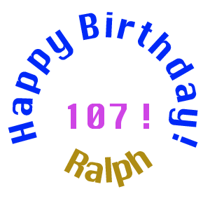 Happy Birthday, Ralph!
